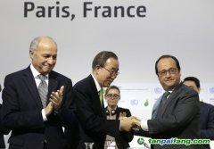 《巴黎协定》高级别签署仪式启动
