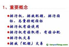 中国排污权有偿使用和交易制度的基本原理