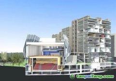 新加坡首座零碳建筑--新加坡建设局办公大楼
