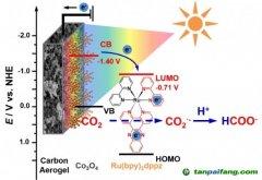 同济大学最新研究成果可解决全球温室效应 将CO2转化成甲酸技术