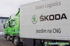 斯柯达CNG动力卡车可降低成本和减少碳排放