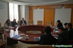 气候司谢极巡视员会见挪威王国驻中华人民共和国特命全权大使司文先生