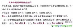 青海省碳排放数据核查项目中标结果公告