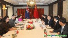生态环境部部长李干杰会见新西兰环境部气候变化部长