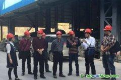 广西梧州市节能减排办对长洲区开展2017年度能耗双控及控制温室气体排放目标责任现场考核工作