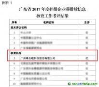 """绿石碳在广东省核查机构考评中,两项工作均排名第一,获评""""优"""""""