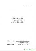 《中冶纸业银河有限公司2013-2018年度温室气体排放核查报告》全文