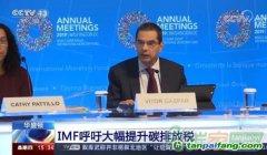 IMF预测:2030年碳排放每吨价格75美元左右