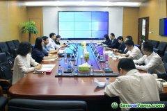 中国节能协会节能服务产业委员会领导一行到访环交所座谈交流