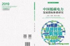 《中国低碳电力发展指标体系研究——中国电力减排研究2019》白皮书