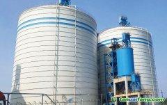环保行业——固废综合利用工程钢板仓库储备罐项目成功案例分析