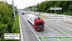 """《1990-2017年英国温室气体排放量最终统计数据》报告:英国研究""""电动公路""""为长途货运脱碳,成本低于氢能"""