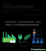能源转型2030:GE的碳中和承诺有这些