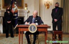 美国正式重返《巴黎协定》丨UN chief hails US return to Paris Agreement