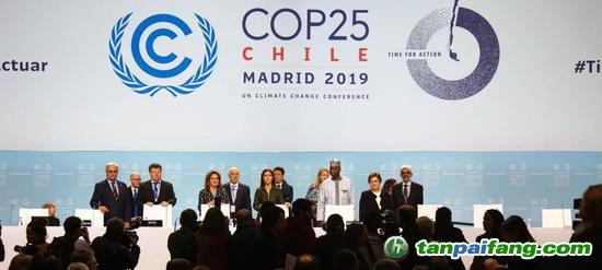 2019年《联合国气候变化框架公约》缔约方大会第二十五届会议在马德里举行(来源:联合国官网)